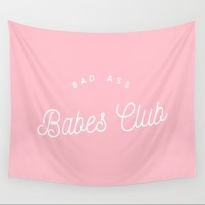 BAD ASS BABES CLUB Tapestry